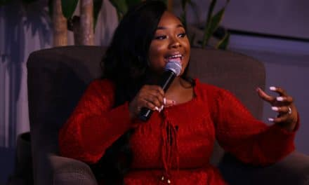 "Jekalyn Carr's Message for the People: ""You Were Born a Champion!"""